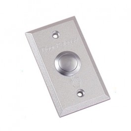 Aluminium Door Release Button for building-in.