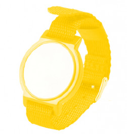 13.56 Mhz Mifare RFID wristband with metal closers