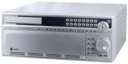 Digital Video Recorder (DVR) - 16 Channels , 500GB, DVD, Pentaplex, Ethernet, 230V DPR-2016