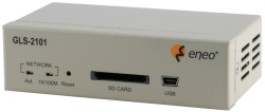 Network 1-channel Video/Audio Server, PAL, Ethernet, 12VDC  GLS-2101