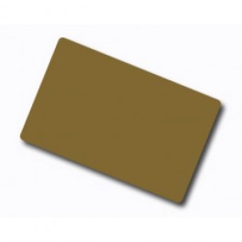 Metalic Color Plastic Card