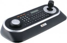 System Keyboard with 3-Axis Joystick and Jog Shuttle, 12VDC KBD-2