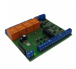 Standalone converter for converting serial communication signal into LAN/WiFi