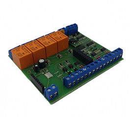 Standalone converter for converting serial communication signal into LAN- Modbus