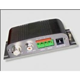 Active 1-channel Twisted Pair Transmitter/Receiver of video/ audio data
