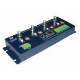 Active 4-channels Twisted Pair Transmitter/Receiver of video data