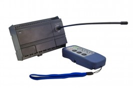 Remote control module - Receiver, Transmitter and Antenna-12 VDC