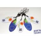 125 kHz ASK(EM4102) RFID keytag, Premium