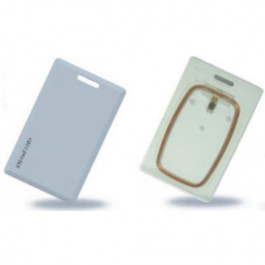 125 kHz ASK (EM4102 compatible) RFID card Clamshell