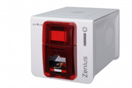Colour Single side card printer Evolis Zenius