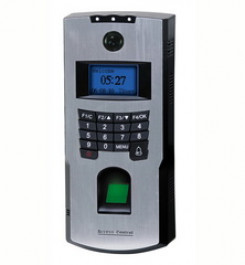 Biometric system with video door function F701