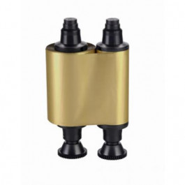 Gold mono ribbon for Evolis printers