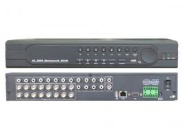 16- канален Видеорекордер (DVR),H.264, CMS софтуер, WEB интерфейс K-8116