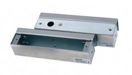 Планки за монтаж на Електрически дропболт, за стъклена врата със стъклена каса