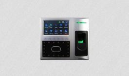 Мулти-биометричен терминал за контрол на достъп и работно време, базиран на лицево разпознаване Face902