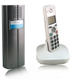 Безжичната система 2 в 1 - DECT телефон и домофон
