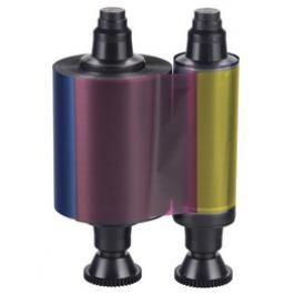 Пълноцветна лента YMCKO за картови принтери Evolis