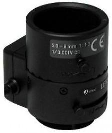 "Вариофокален обектив F0.1/3-8mm DC Lens 1/3"" CS Mount - F03Z2.710DC-NFS"