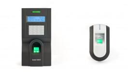 Биометричен терминал за двустранен контрол на достъп и отчитане на работно време F8