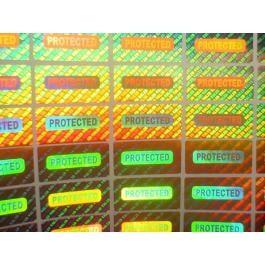 Холограмен стикер с универсален дизайн Вариант 4