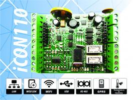 ICON110 Контролер за контрол на достъп и работно време за управление на една врата двустранно или две врати едностранно