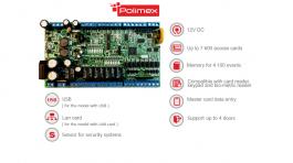 ICON 130/RS485- Мултифункционален контролер за контрол на достъп, работно време и автоматизация