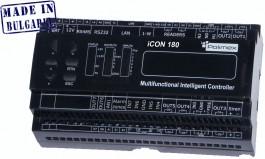 ICON 180 LAN - Мултифункционален контролер за контрол на достъп, сот и автоматика с LAN комуникация