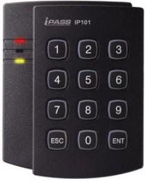 125 kHz ASK (EM) Безконтактен Четец за карти и ПИН код iPASS IPK101