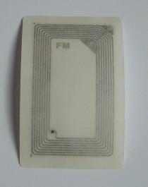13,56 MHz Compatible Fudan F08 ISO 14443 A безконтактна чип самозалепваща карта за достъп