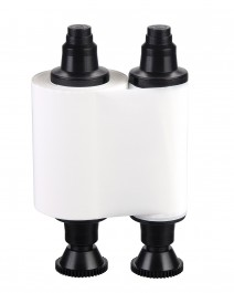 Бяла монохромна лента за принтери Evolis