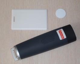 Система за контрол на обходи с вграден 125kHz ASK(EM) безконтактен четец TCR200RFID