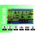 iCON180 Контролер за контрол на достъп, работно време, СОТ и автоматизация