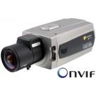 1/3'' IP (Мрежова) Цветна Мегапикселова охранителна камера, ONVIF, Резолюция 1280x720, H.264, MJPEG, PoE, 12/24V NXC-1401M