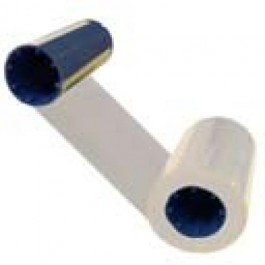White mono ribbon for Javelin/Zebra/CIM 800015-109