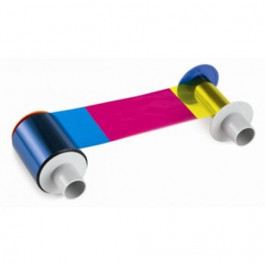YMCKK color ribbon for Fargo printers -84052