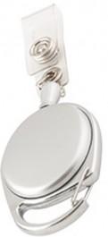 Roll Lanyard Oval- Silver