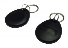 NFC 13.56 MHz MF Compatible Fudan F08 ISO 14443 A kontaktloser Zutrittschipkarte-Schlüsselanhänger