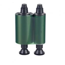 Green mono ribbon for Evolis printers
