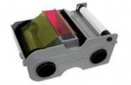 Fargo 45000 Color Ribbon - YMCKO - 250 prints  DTC1000 and DTC1250e