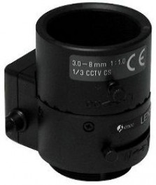 "F1.0/3-8mm DC Lens/var. Focal Length with No Focus Shift, 1/3"" CS Mount F03Z2.710DC-NFS"
