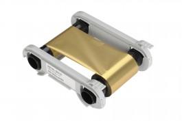 Gold mono ribbon for Evolis Zenius/Primacy printers- 1000 img