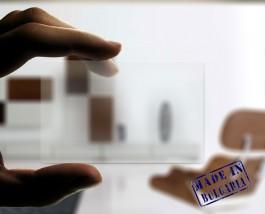 Transparent Plastikkarten- glänzend