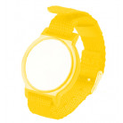 13.56 Mhz MF Compatible Fudan F08 RFID wristband with metal closers