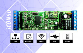 iCON50 Controller for Access control and time attendance