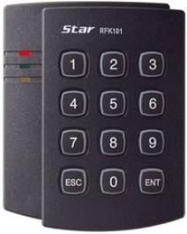 125 kHz PSK Proximity Card / PIN Reader RFK101
