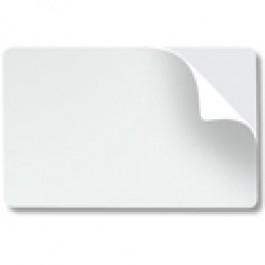 Self Adhesive White Plastic card