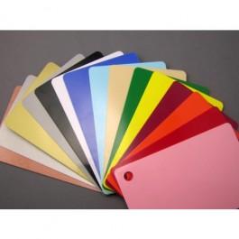 Color Plastic Card