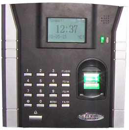 Fingerprint terminal for Access control and Time attendance management F4 Vista
