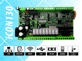 iCON130 Controller for access control, time and attendance and automation