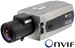 1/3'' IP Color Security Camera, ONVIF, 1280x720, H.264, MJPEG, PoE, 12/24V NXC-1401M